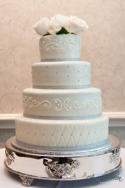 Megan and Jordan - cake